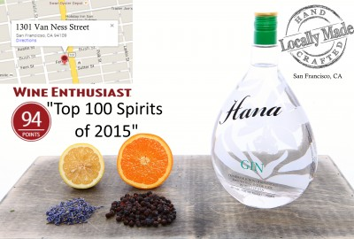 Hana Gin highest ranked gin